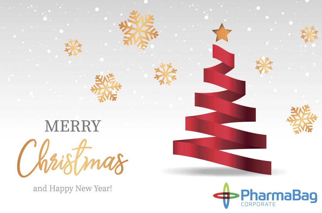 Immagini Auguri Buon Natale.Auguri Buon Natale E Felice Anno Nuovo Pharma Bag